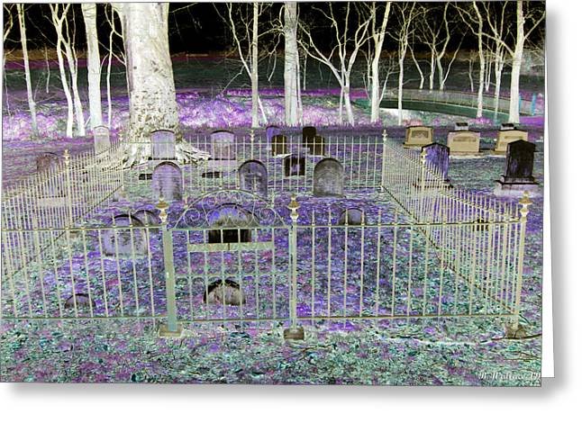 Wye Mills Greeting Cards - Wye Mills Cemetery Greeting Card by Brian Wallace