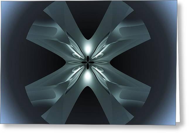 Visual Artist Frank Bonilla Greeting Cards - X Lights Greeting Card by Visual Artist  Frank Bonilla