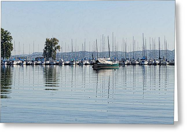 Concord Greeting Cards - Yacht Club Greeting Card by Bill Kennedy