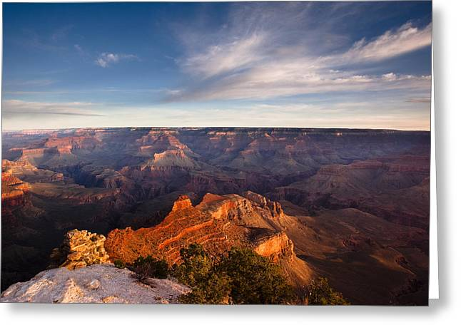 Yaki Greeting Cards - Yaki Point - Grand Canyon National Park Greeting Card by Andrew Soundarajan