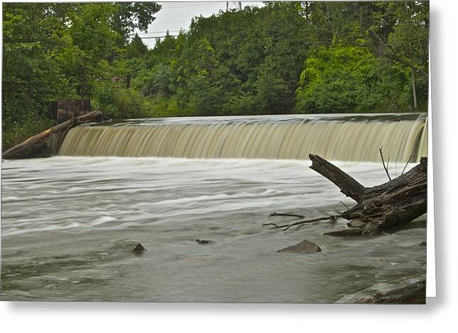 Cider Mill Greeting Cards - Yates Dam 5321 Greeting Card by Michael Peychich