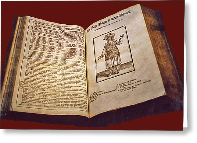 Talmud Greeting Cards - Ye Olde Talmud Greeting Card by Rianna Stackhouse
