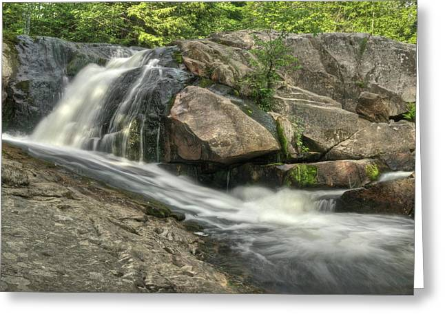 Yellow Dog River Greeting Cards - Yellow Dog Falls 4 Greeting Card by Michael Peychich