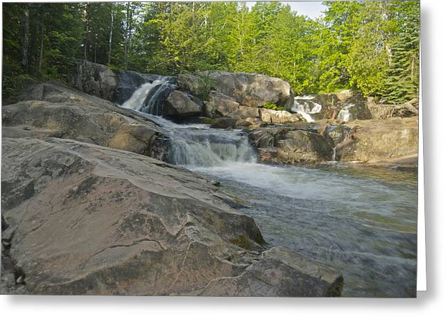 Yellow Dog River Greeting Cards - Yellow Dog Falls 4213 Greeting Card by Michael Peychich
