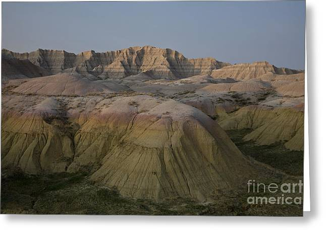 Mound Greeting Cards - Yellow Mounds Greeting Card by Timothy Johnson