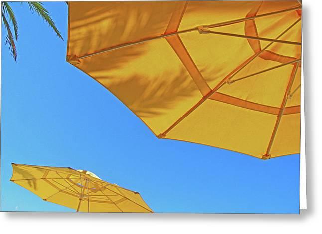 Florida Panhandle Digital Greeting Cards - Yellow Time  Greeting Card by Lizi Beard-Ward