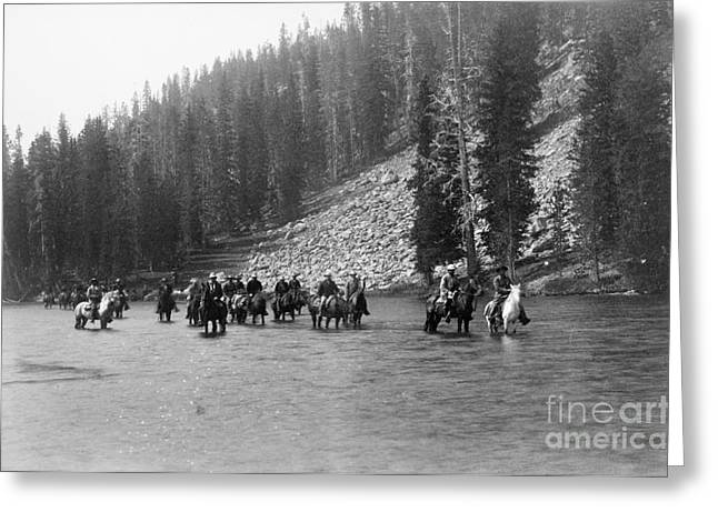 West Fork Greeting Cards - Yellowstone: Snake River Greeting Card by Granger