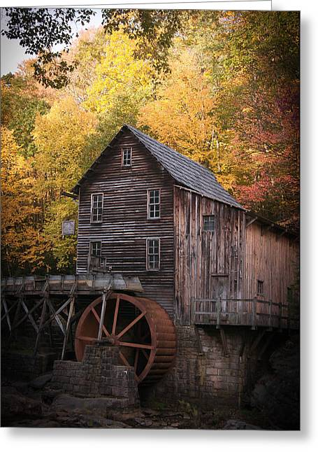 Grist Mill Greeting Cards - Yesterdays Greeting Card by Melissa  Wilson