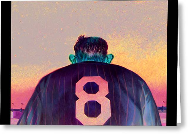 Yogi Bids Farewell Greeting Card by Gregg Hinlicky