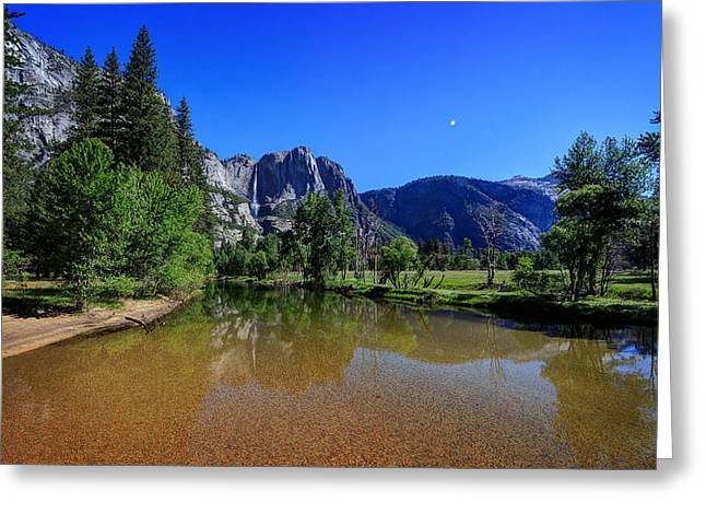 Yosemite Greeting Card by Everet Regal