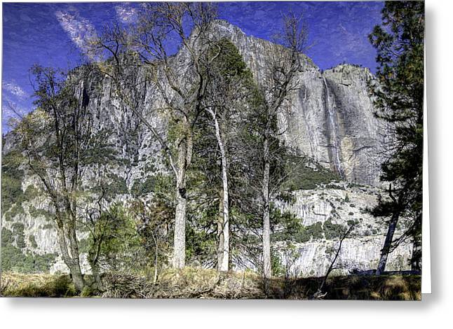Yosemite Greeting Cards - Yosemite Reflection Greeting Card by Mike Herdering