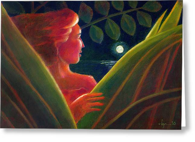 Ocean Artist Greeting Cards - You Are the Light of My Life Greeting Card by Angela Treat Lyon