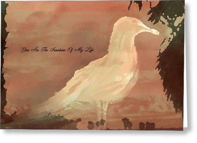 You Are The Sunshine Of My Life Greeting Card by Sherri  Of Palm Springs
