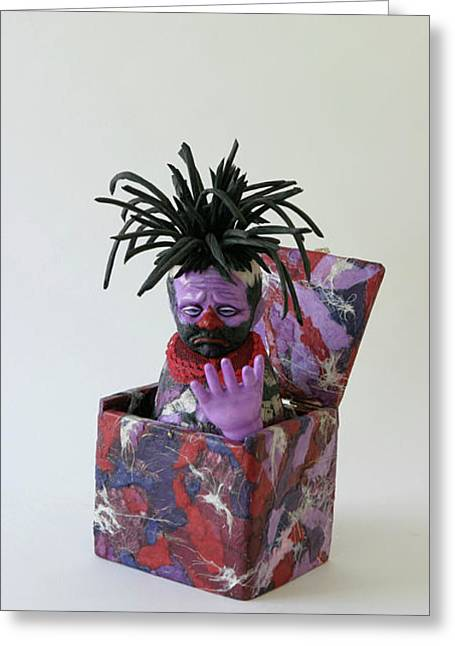 Part Sculptures Greeting Cards - You Belong To Me Now Greeting Card by Ruth Edward Anderson