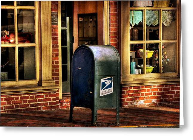 Us Postal Service Greeting Cards - You Got Mail Greeting Card by Todd Hostetter