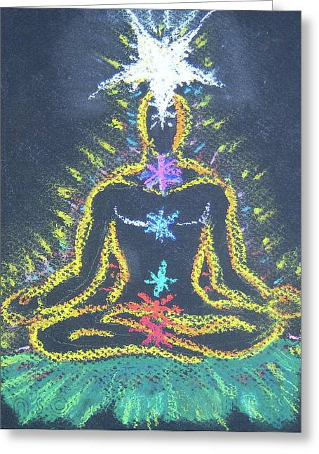 Chakra Rainbow Greeting Cards - Youll Tree Greeting Card by Dennis Goodbee