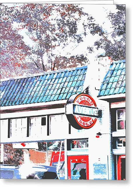 Deli Greeting Cards - Young Ave Deli Memphis Greeting Card by Lizi Beard-Ward