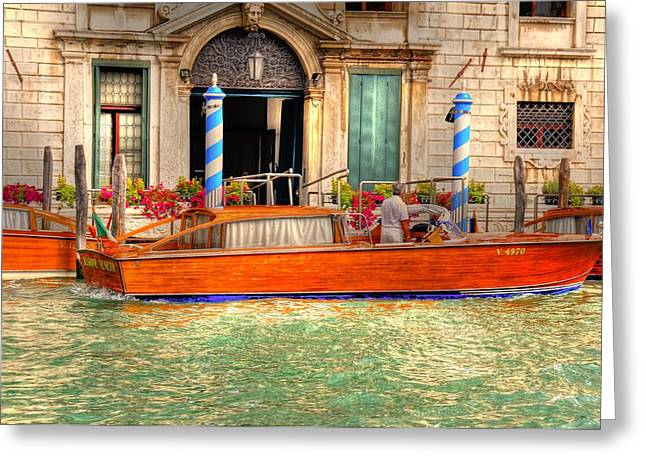 Village By The Sea Greeting Cards - Your Ride is Here Greeting Card by Barry R Jones Jr