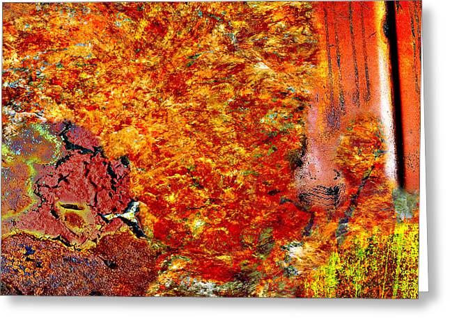 Rust Greeting Cards - Ytsur  Greeting Card by Jerry Cordeiro