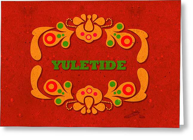 Yule Greeting Cards - Yuletide Greeting Card by Janina Aberg