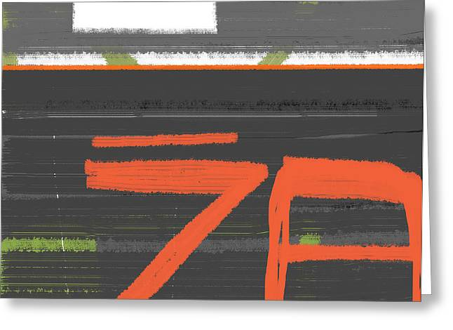 Z8 Greeting Card by Naxart Studio