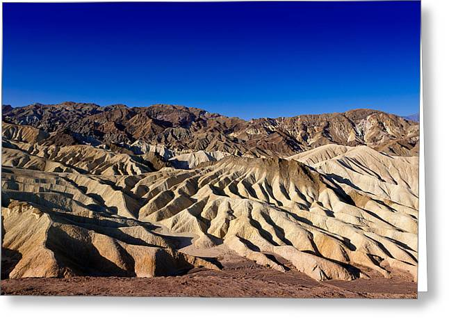 Michelangelo Greeting Cards - Zabriskie Point no.1 Greeting Card by Niels Nielsen