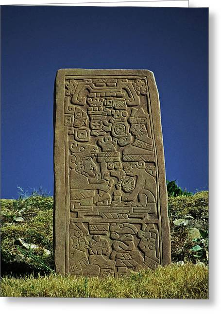 Geschichte Greeting Cards - Zapotec History Greeting Card by Juergen Weiss