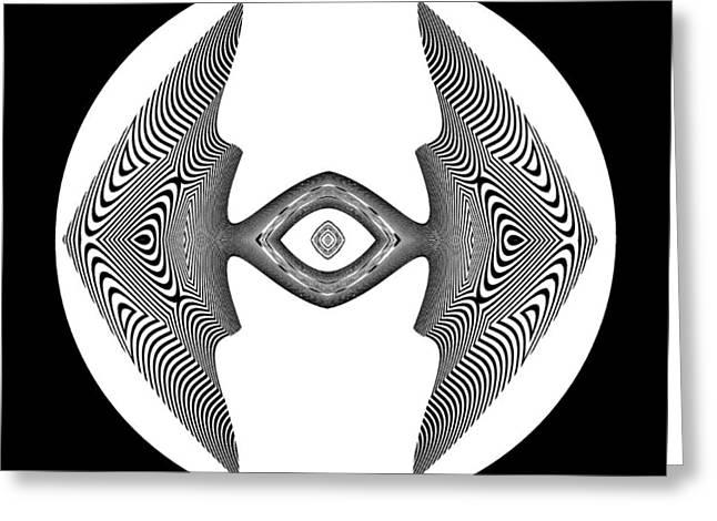 Frank Ocean Art Greeting Cards - Zebra Fish Greeting Card by Visual Artist  Frank Bonilla