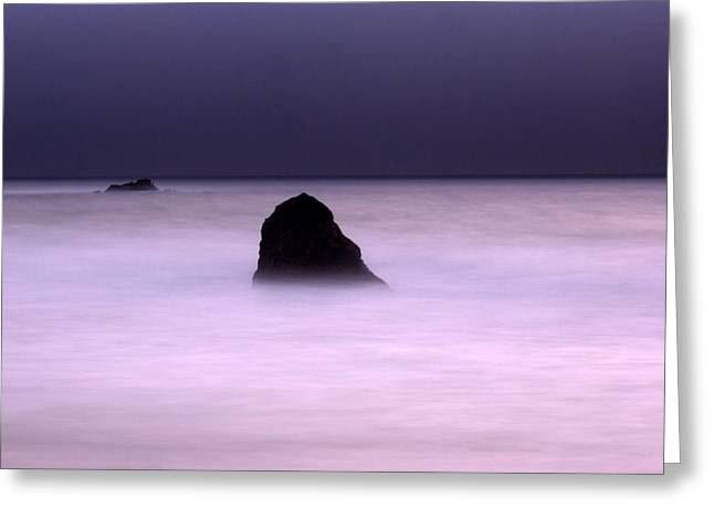 Beach Landscape Photographs Greeting Cards - Zen Greeting Card by Catherine Lau