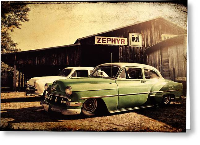 Wisconsin Barn Greeting Cards - Zephyr Greeting Card by Joel Witmeyer