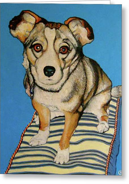 Tom Roderick Greeting Cards - Ziggy Greeting Card by Tom Roderick
