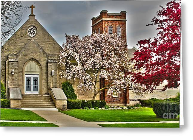 Zion Lutheran Church Greeting Cards - Zion Lutheran Church Greeting Card by Jack Schultz