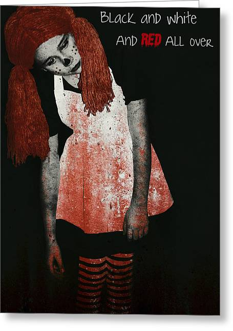 Undead Greeting Cards - Zombie Greeting Card Greeting Card by Lisa Knechtel