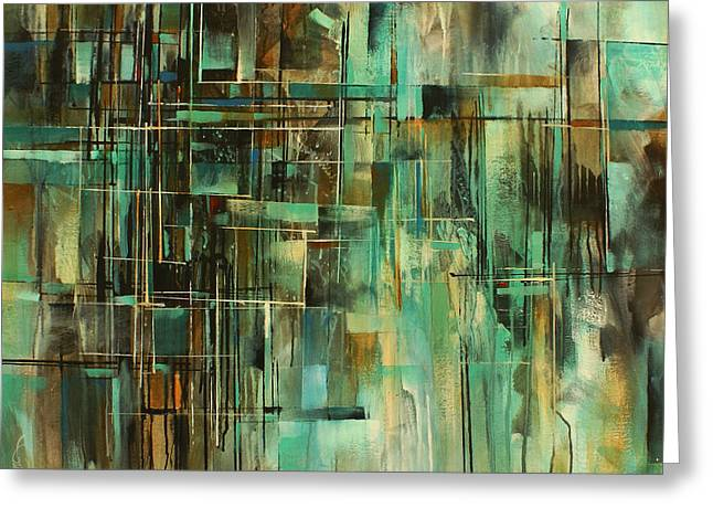 Layer Greeting Cards -   As I see it  Greeting Card by Michael Lang