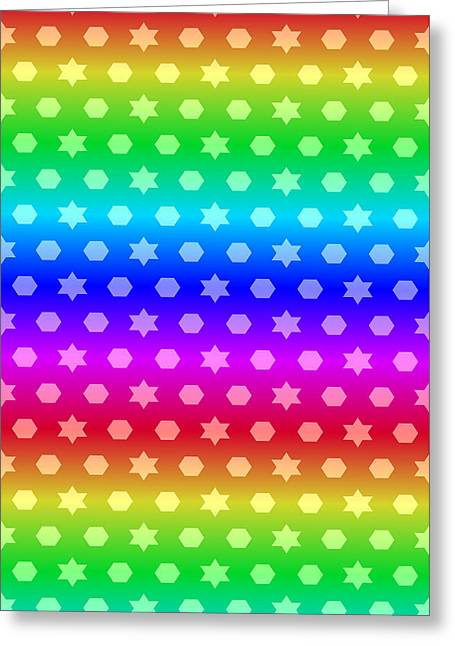Beauty Mark Greeting Cards - # 11 Patterns for to brighten your life. Greeting Card by Mark Brooks