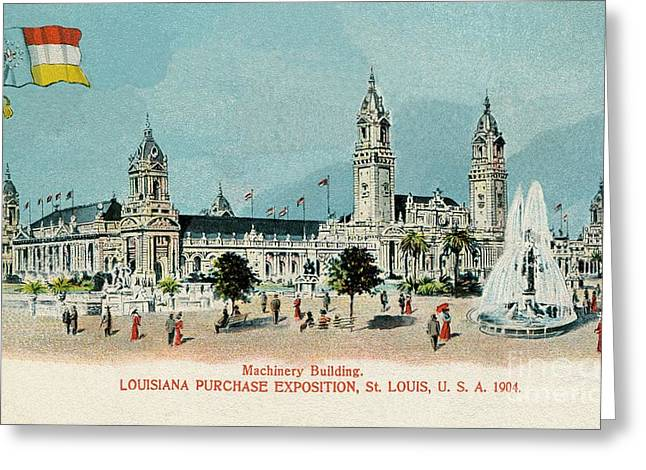 1904 Louisiana Purchase Exposition St. Louis Greeting Card by Heidi De Leeuw