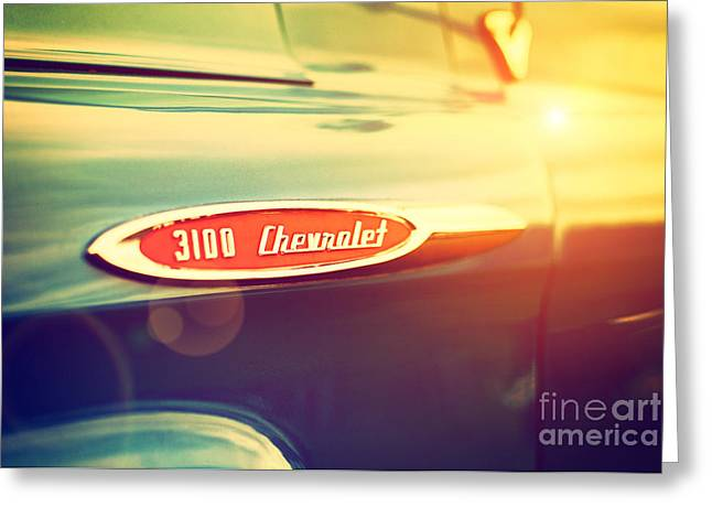 Chevrolet Pickup Truck Greeting Cards -  3100 Chevrolet Greeting Card by Tim Gainey