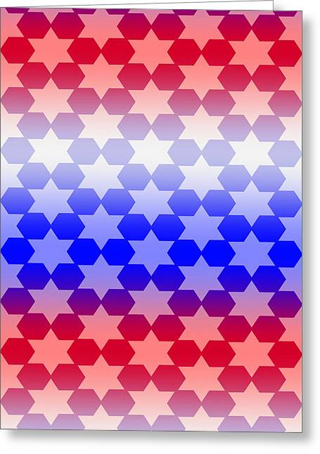 Beauty Mark Greeting Cards - # 6 Patterns for to brighten your life. Greeting Card by Mark Brooks