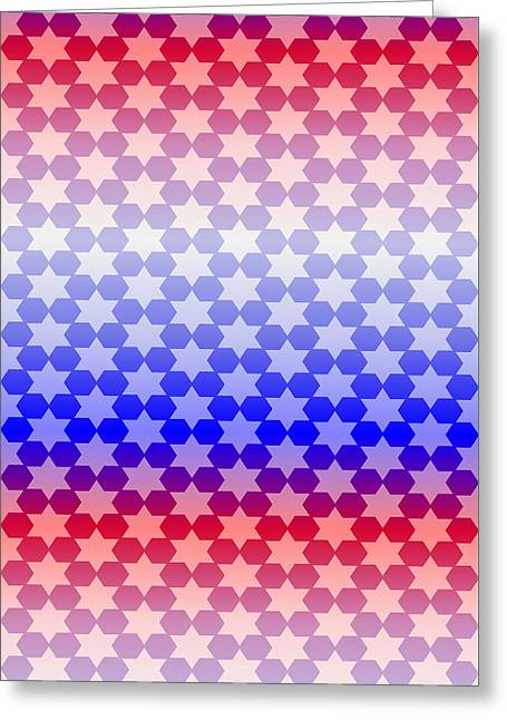 Beauty Mark Greeting Cards - # 7 Patterns for to brighten your life. Greeting Card by Mark Brooks