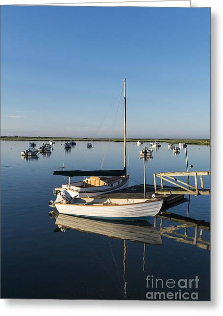 Cape Cod Cove Greeting Card by John Greim