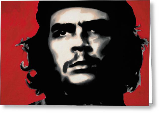 Che Greeting Cards - - Che - Greeting Card by Luis Ludzska