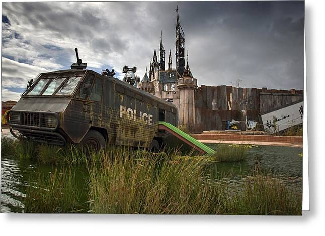 Installation Art Greeting Cards -  Dismaland Greeting Card by Jason Green