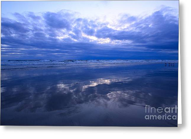 Pacific Ocean Prints Greeting Cards -  Pacific Blue 48x72 Print Greeting Card by John Tsumas