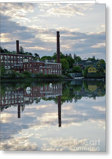 New England Village Greeting Cards -  Exeter New Hampshire USA Greeting Card by Erin Paul Donovan