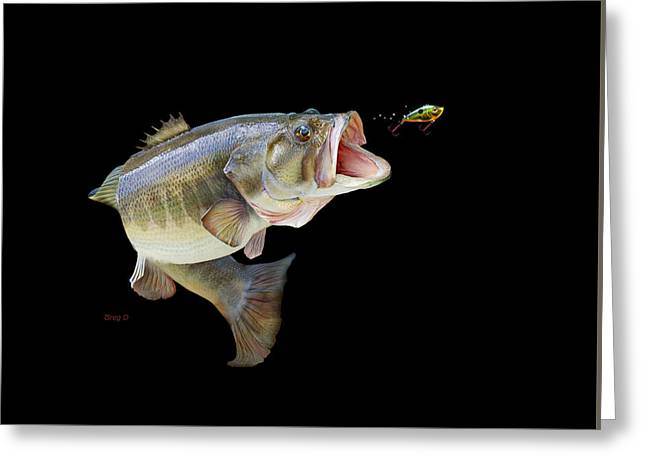 Fishing Tournaments Greeting Cards -  Fishing In A Tournament Greeting Card by Gregory Doroshenko