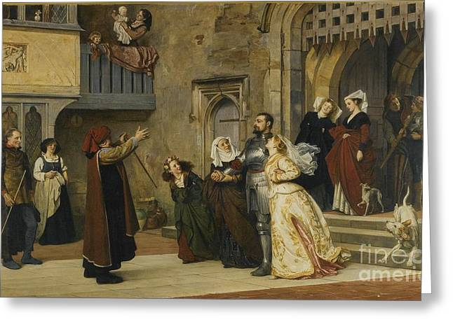 Home After Victory Greeting Card by Philip Hermogenes