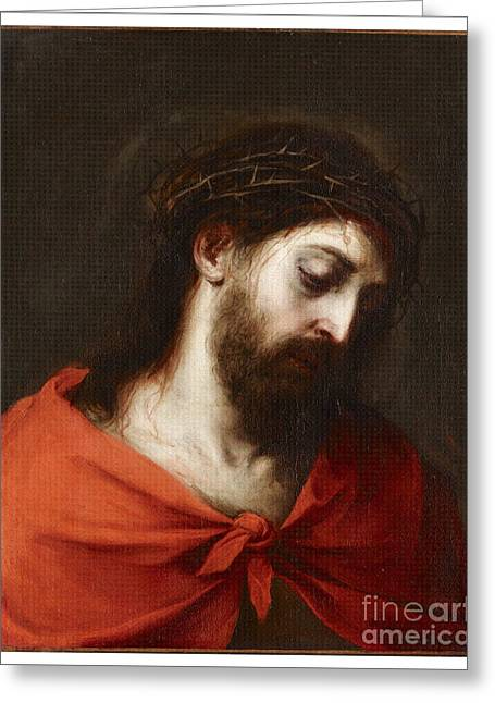 Bartolome Esteban Murillo Greeting Cards -  Jesus Christ Greeting Card by Bartolome Esteban Murillo
