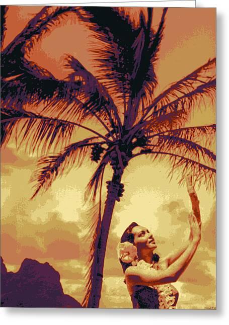 Kauai Greeting Cards -  Kauluwela Hula 11 Greeting Card by Kenneth Grzesik