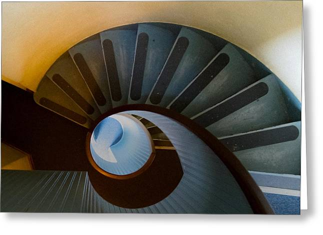 Staircase Greeting Cards - @ Greeting Card by Kirk Cypel