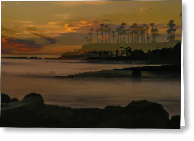 Exposure Greeting Cards -  Laguna beach  Greeting Card by Kent Meier